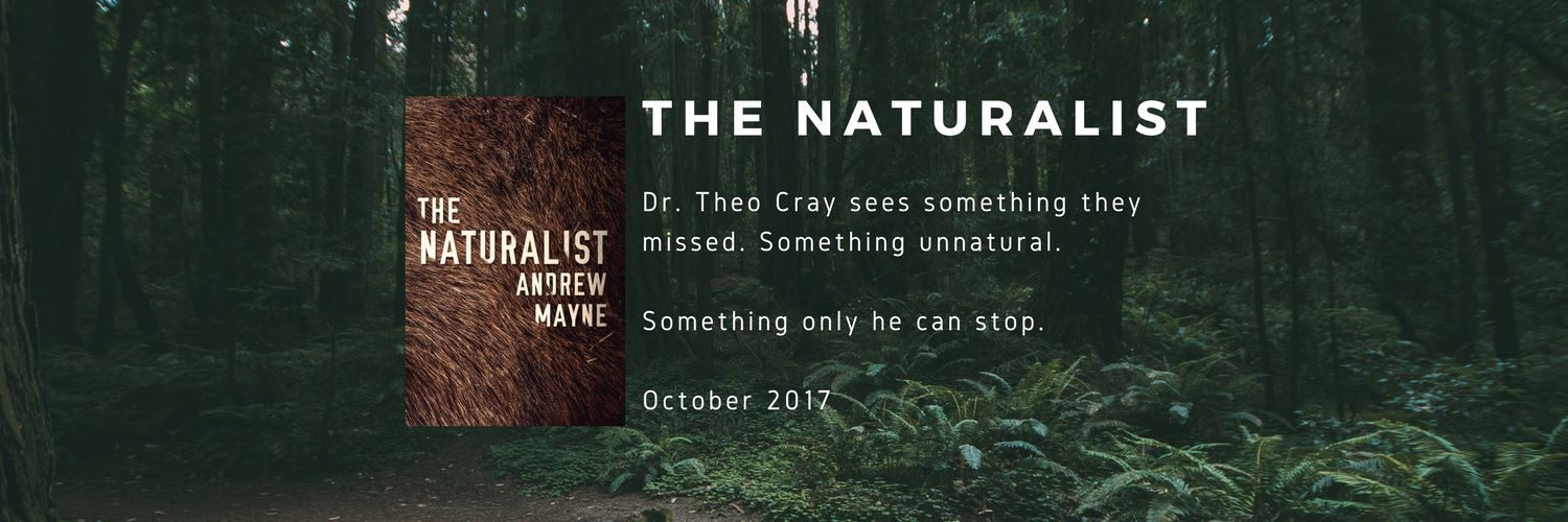 "There's something hidden in the trees... ""The Naturalist"" by Andrew Mayne – review"